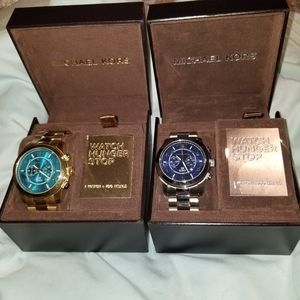 🔥MK Limited Edition Hunger Games Watch Duo Set
